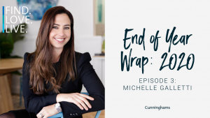 Michelle Galletti end of year wrap 2020