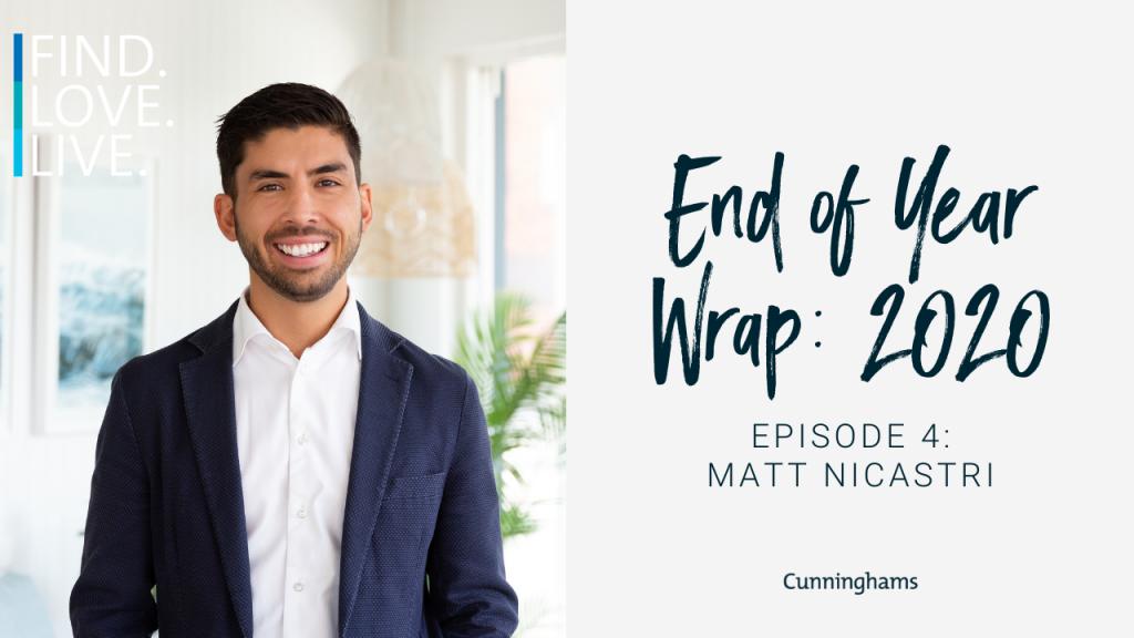 Matt Nicastri end of year wrap 2020