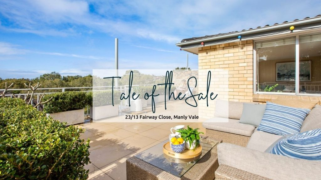Tale of the Sale | 23/13 Fairway Close, Manly Vale